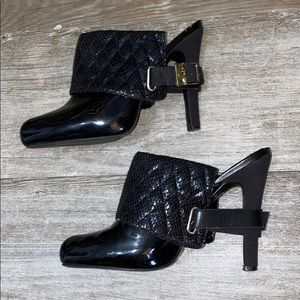 Baby Phat Quilted Cuffed Heels